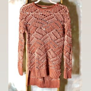 Universal Thread Mauve Knit Sweater NWT